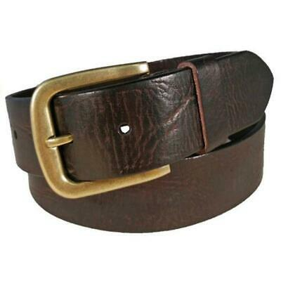 Charles Smith 38mm Casual Leather Belt Brown Various Sizes