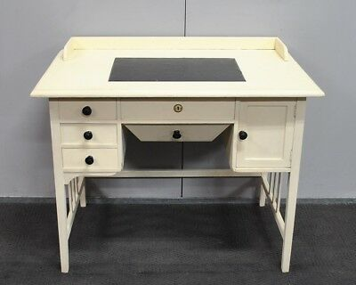 Lovely Rare Antique Arts & Crafts Style Ladies Desk c1910