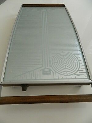 RETRO SALTER Food Warmer Electric with TEAK INSERTS, Mid Century Working