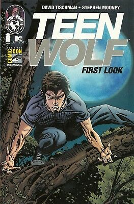 SDCC 2011 Teen Wolf First Look MTV Comic Con Edition First Issue #1