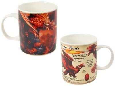"Anne Stokes ""Fire Dragon"" Dragon Mug, Wonderful Gift Idea!"