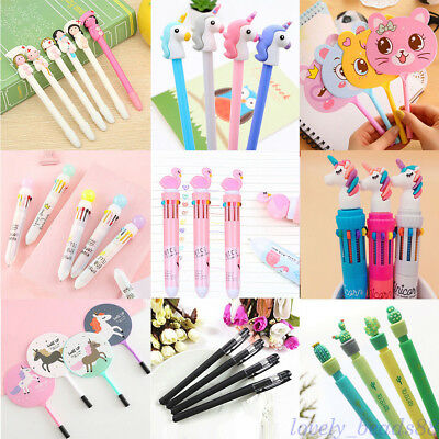 Lots Creative Ballpoint Pen for Writing Stationery Office Supplies Kids School