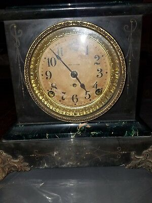 Antique 19th Century Working Seth Thomas Mantle Clock