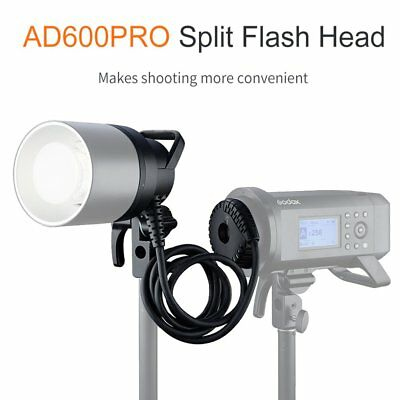 Godox H600P Flash Head Bowens Mount Handheld Extension Head For AD600Pro Strobe