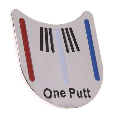 Practical Golf Ball Marker Putting Alignment Aiming Tool with Magnetic Hat Clip