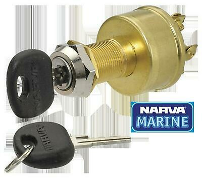 Narva 4 Position Ignition Switch (Marine) 64012 Free Shipping!