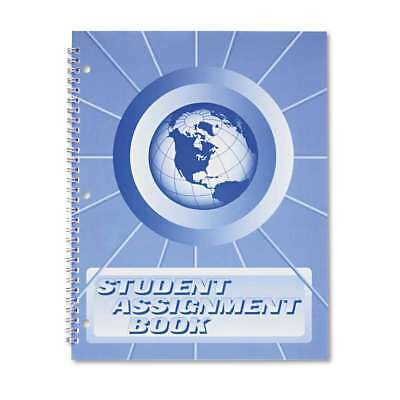 Ward® Student Assignment Book, 40 Weeks, 11 x 8-1/2, Laminated Co 795840000982