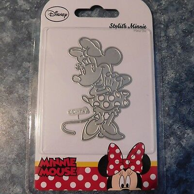 DISNEY - STYLISH MINNIE DIE DIS1302 - MINNIE MOUSE RANGE - 8.5cm HIGH & Stunning
