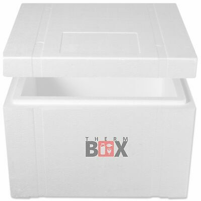 Therm-Box Styroporbox 53W Wand50mm Innen:47x38x29cm Isolierbox Thermobox Kühlbox