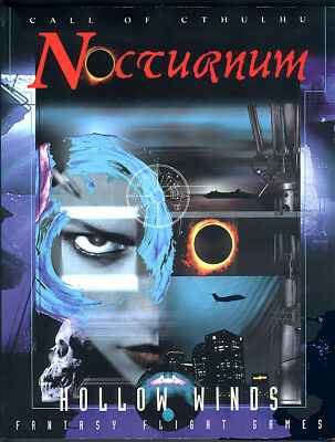 Cthulhu Nocturnum Hollow Winds, von Fantasy Flight, Englisch/English