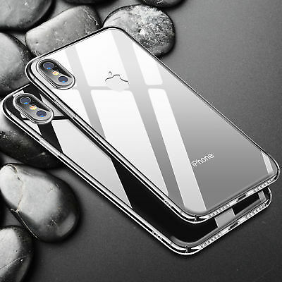 For iPhone XS Max XR 7 8 Plus Ultra Thin Rubber Silicone Case Gel TPU Soft Cover