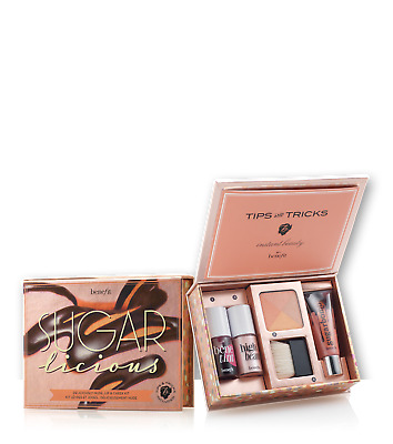 Benefit -Sugar licious - Deliciously Nude Lip and Cheek Kit - Brand New & Boxed