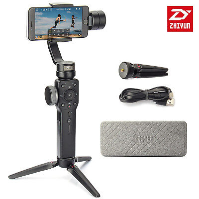 Zhiyun Smooth 4 3-Axis Handheld Gimbal Stabilizer for Smartphone iPhone Black
