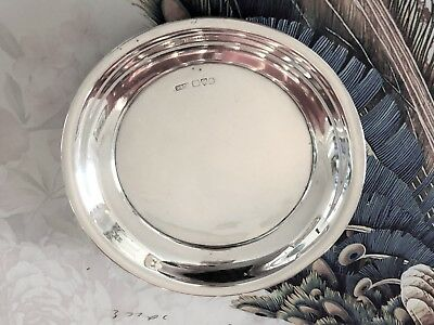 Vintage Sterling Silver Pin Dish - Stokes & Ireland Ltd - Chester - 1903