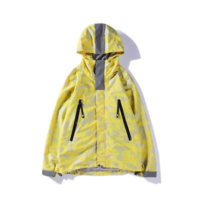 61a5b195ebfe 18ss Men s Fall Windbreaker Bape Camo Design A Bathing Ape Light Weight  Hoodie