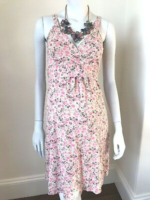 BOOB DESIGN MATERNITY Dress, Strappy Pink Floral UK 8/10 (Size XS)