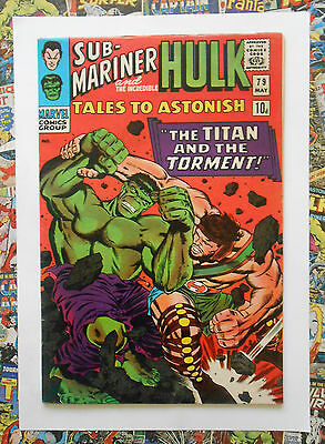 Tales To Astonish #79 - May 1966 - Hercules Appearance! - Vfn (8.0) Pence Copy!
