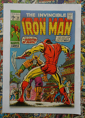 Iron Man #30 - Oct 1970 - Monster Master Appearance! - Nm- (9.2) Cents Copy!!!