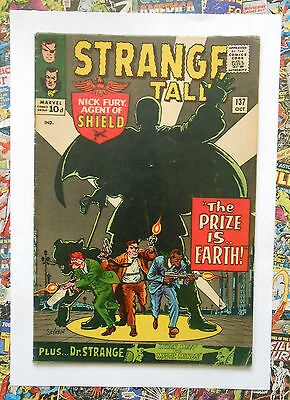 Strange Tales #137 - Oct 1965 - Hydra Appearance! - Fn+ (6.5) Pence Copy!!!