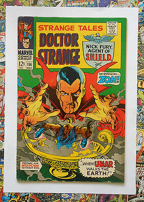 STRANGE TALES #156 - MAY 1967 - 1st ZOM APPEARANCE! - VFN (8.0) CENTS COPY!