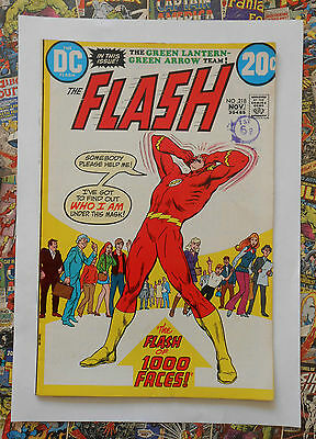 The Flash #218 - Nov 1972 - Neal Adams Green Lantern - Vfn (8.0) Cents Copy!!