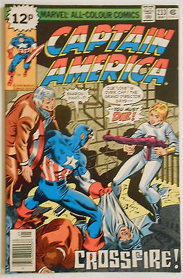 Captain America #233 - May 1979 - Dr Faustus Appearance! - Vfn (8.0)