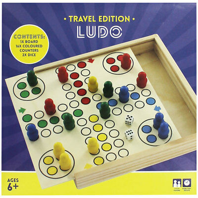 Ludo - Travel Edition, Toys & Games, Brand New