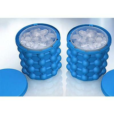 New Ice Cube Maker Genie The Revolutionary Space Saving Ice Genie Cube Maker EE