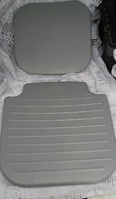 Akw 4000 replacement grey shower seat and back cushions.