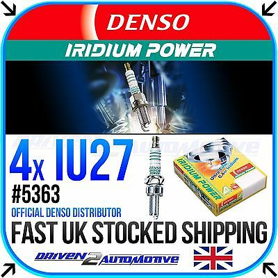 4 X Denso Iu27 Iridium Power Plugs Equivalent Of Cr9Eix,2-3 Times More Lifetime