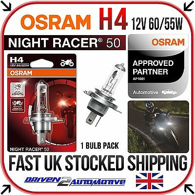 RM05 1x OSRAM H4 X-RACER HEADLIGHT BULB UPGRADE FOR YAMAHA MT MT-03 04.12