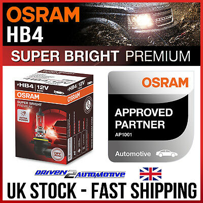 1x OSRAM HB4 SUPER BRIGHT PREMIUM BULB OFFROAD 4X4 RALLY FOR LEXUS GS JZS147 300