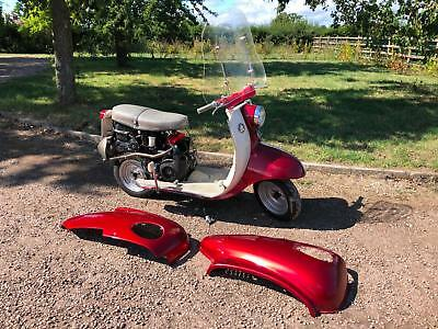 1960 BSA Sunbeam Scooter 250cc. Classic British Scooter