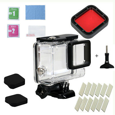 For GoPro Hero (2018)/6/5 Waterproof Case Diving Protective Housing Shell Suit