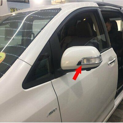 Fit For Toyota Sienna 2015-2017 2018 Chrome ABS Rear view Mirror Cover Trim