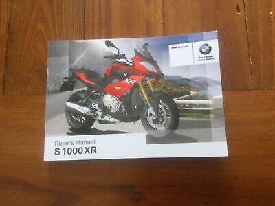bmw s1000xr owners riders manual 20 00 picclick uk rh picclick co uk bmw s1000rr service manual pdf bmw s1000rr owners manual 2016