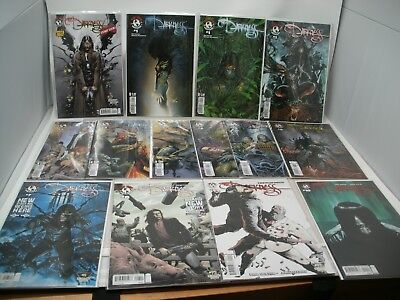 THE DARKNESS Comic Lot Volume 3 #1-10 Complete run w/VARIANTS 14 issues  VF/NM