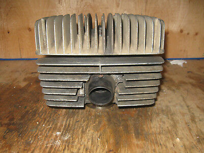 Vintage Can-Am Ase 200 Cylinder Head And Piston Free Ship To U.s. And Canada