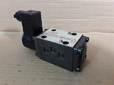 Atos 2 Position CETOP 3 Ng6 Solenoid Directional Valve DHU-0631/2 18 24VDC *