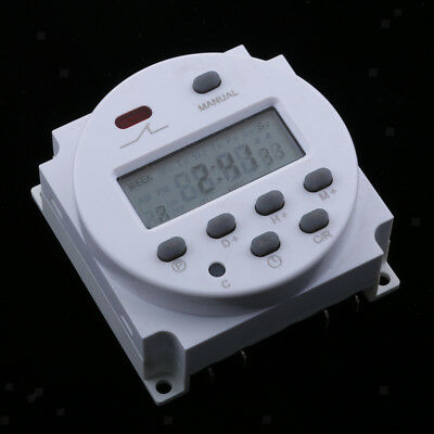 DC 24V Digital LCD Programmable Timer Relay Time of Weekly Electronic