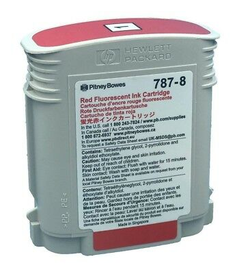 787-8 Pitney Bowes Red Ink