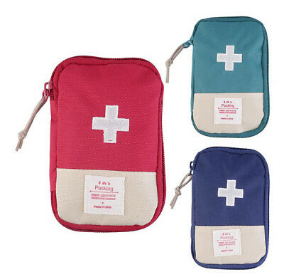 Case New Outdoor Camping Portable First Aid Kit Home Survival Bag Medicine