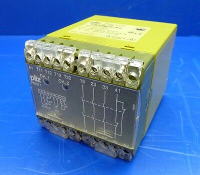 Surplus Pilz PNOZ 1 3s/1o 475650 Safety Relay