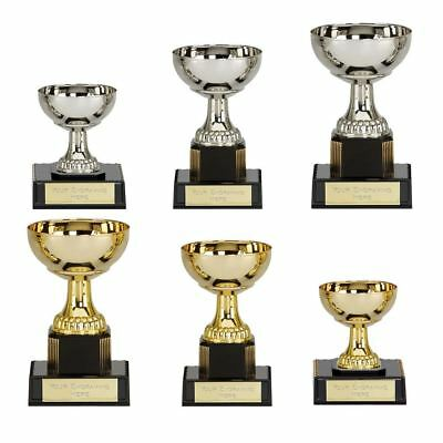 Bargain Budget Presentation Cup Trophy School/ Sports Awards FREE Engraving