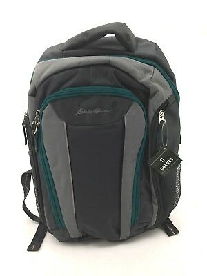 Eddie Bauer Diaper Bag Backpack | Insulated | Turquoise (JK19)