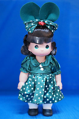 Mouseketeer's Christmas Brunette Disney Precious Moments Doll Signed 4844