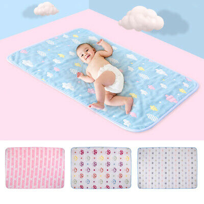 Baby Portable Folding Diaper Home Travel Changing Pad Cover Waterproof Urine Mat