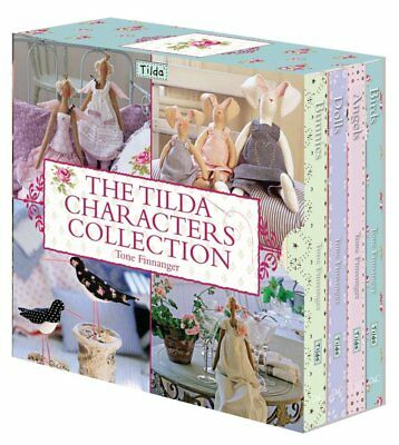 1x Book The Tilda Characters Collection Sewing Craft Tool Hobby Art UK
