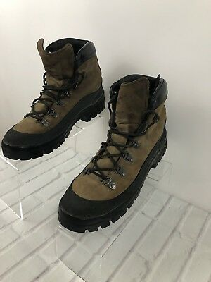 DANNER MEN'S COMBAT Hiker Style 43513X Two Tone Boots Size 10 5 USA Made