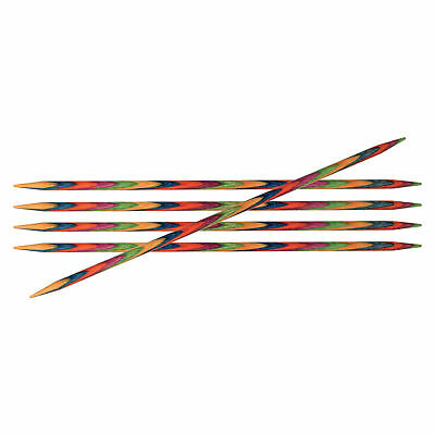 1x Symfonie Knitting Pins Double-Ended Set of Five 15cmx3.50mm Tool Art